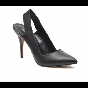 ALDO Black Sling back Pumps